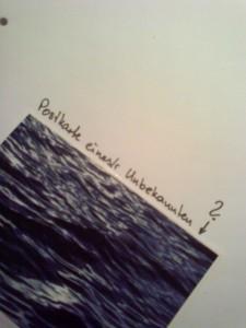 Mystery Postcard